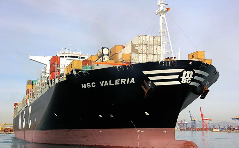 Mundra Port handles largest container ship MSC Valeria   Logistics India